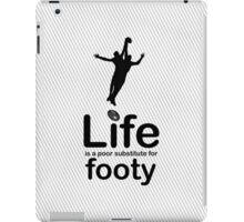 AFL v Life - Black iPad Case/Skin