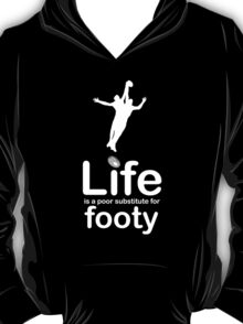AFL v Life - Carbon Fibre Finish T-Shirt