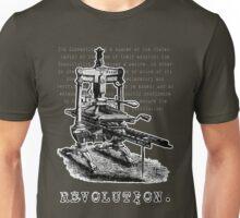 Printing Press = Revolution Unisex T-Shirt