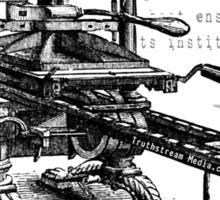Printing Press = Revolution Sticker