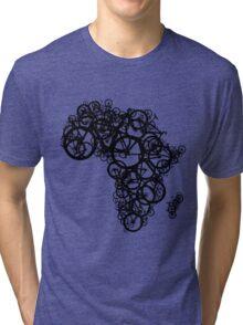 Africa T (Green) Tri-blend T-Shirt