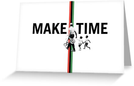 Make Time Card (Blank Inside) by redbikegreen