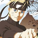 Naruto vector- iPhone Case by squidkid