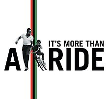 More Than A Ride Card (Blank Inside) by redbikegreen