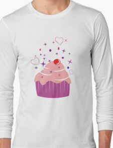 Sweet Cupcake Long Sleeve T-Shirt