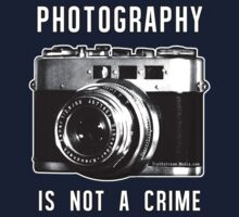 Photography is not a crime. Kids Clothes