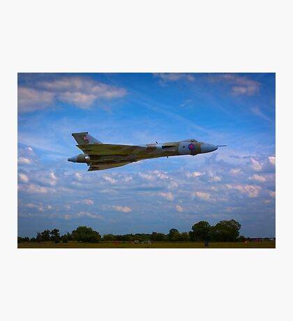 Avro Vulcan flying low Photographic Print