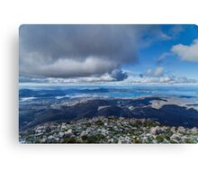 Mt. Wellington Lookout, Hobart, Tasmania Canvas Print