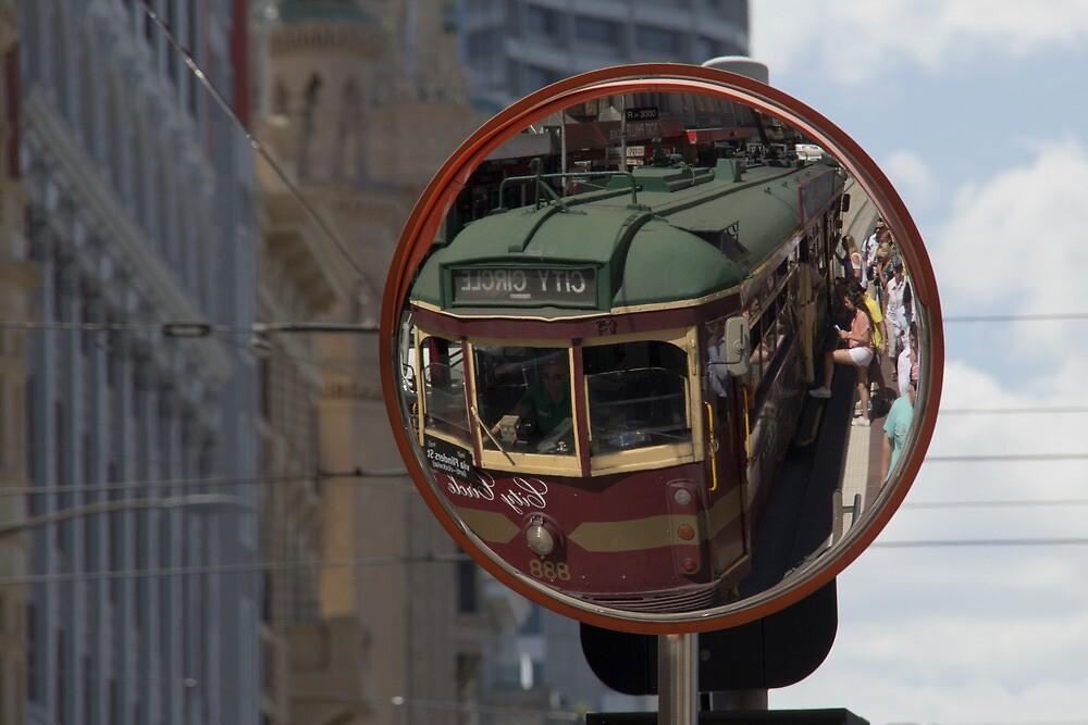 City Circle Tram - Melbourne by Jennifer Saville