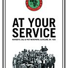 At Your Service Poster by redbikegreen