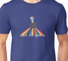Taste the Rainbow Dash! Unisex T-Shirt