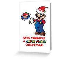 Super Mario Christmas Greeting Card