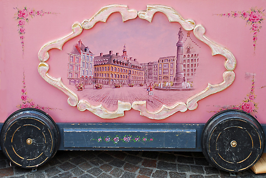 Old consumption-stand in Lille - France by Arie Koene