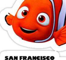 Black & Orange (Clown Fish) For Life Sticker