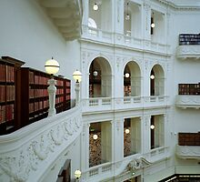 The La Trobe Reading Room – State Library of Victoria by Richard McKenzie