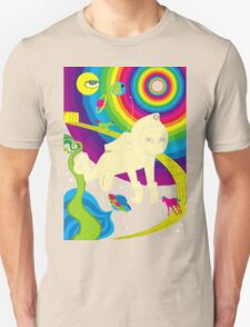 Floating In Space Unisex T-Shirt