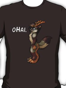 oHai (Gray Foxalope Version) T-Shirt