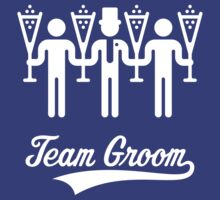 Team Groom (Bachelor Party / Stag Night) White by MrFaulbaum
