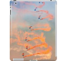 RAF Falcons parachute display team iPad Case/Skin
