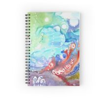 Octopuses Garden Spiral Notebook