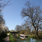 Bridge Near Bedwin - Kennet and Avon Canal by Samantha Higgs