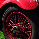 Red Singer Classic Car by wiggyofipswich