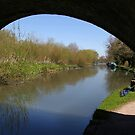 Quiet Fishing Spot - Kennet and Avon Canal by Samantha Higgs
