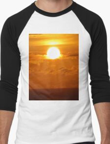 Magic Golden Sunrise Men's Baseball ¾ T-Shirt