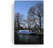 Blue And Bigger On The Inside? Canvas Print