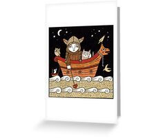 Veras Viking Voyage Greeting Card