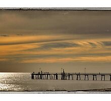 Sunset at Glenelg Series, No 8 by Rob Kelly