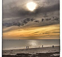 Sunset at Glenelg Series, No 10 by Rob Kelly