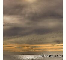 Sunset at Glenelg Series, No 11 by Rob Kelly