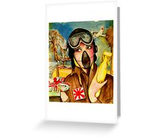Capt Strangelove  Greeting Card