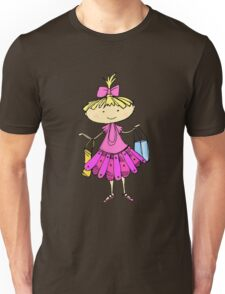 Pink girl Unisex T-Shirt