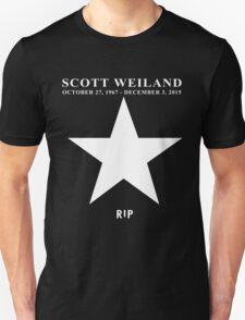 Scott Weiland - Rest In Peace - Stone Temple Pilots Four Logo Unisex T-Shirt