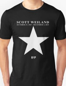 Scott Weiland - Rest In Peace - Stone Temple Pilots Four Logo T-Shirt