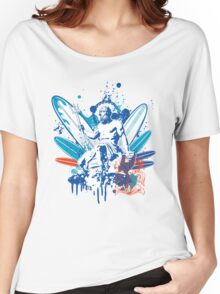 poseidon surfer 4  Women's Relaxed Fit T-Shirt