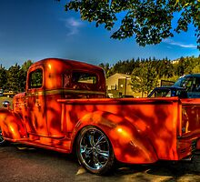 Orange Hauler by Steve Walser