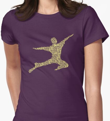 QR Body Womens Fitted T-Shirt