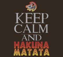 Keep calm and Hakuna Matata Lion King by sweetsisters