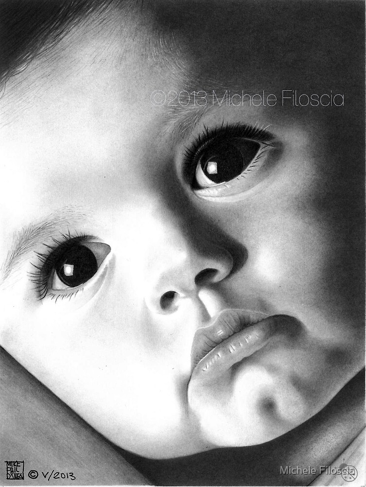 An Adorable Baby by Michele Filoscia