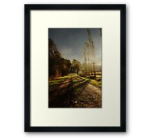 A Journey to Remember Framed Print
