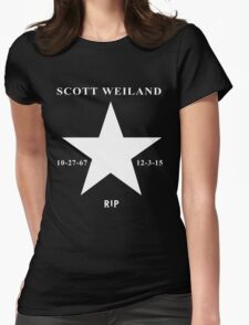 Scott Weiland - Rest In Peace - Stone Temple Pilots Four Logo Womens Fitted T-Shirt