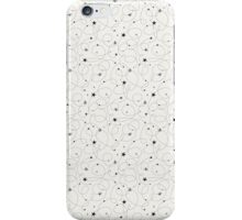 Shooting Stars - Off White iPhone Case/Skin