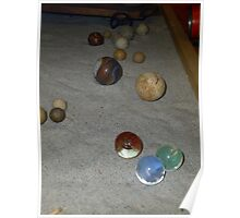 Antique Marbles Poster