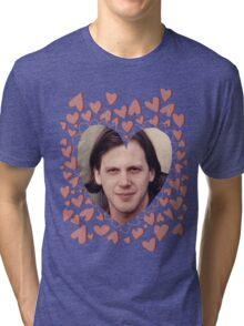 heart shaped jeff mangum  Tri-blend T-Shirt