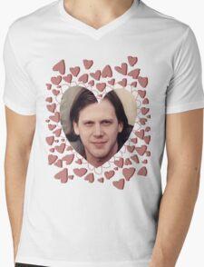 heart shaped jeff mangum  Mens V-Neck T-Shirt