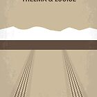 No189 My Thelma and Louise minimal movie poster by Chungkong