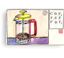 EDiM #8  draw a coffeepot Metal Print